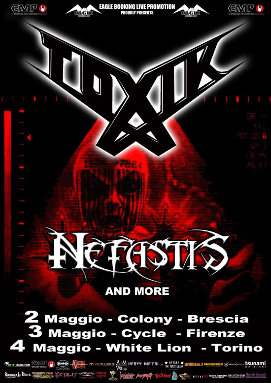 Toxik Italian  Tour Web