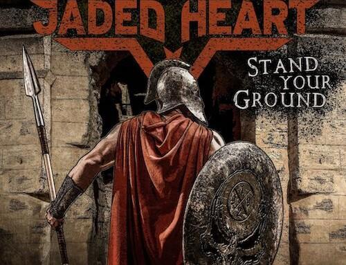 """JADED HEART, la versione cofanetto di """"Stand Your Ground"""""""
