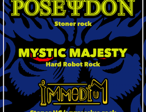 POSEYDON, con Mystic Majesty e Immodium al The Factory di Verona