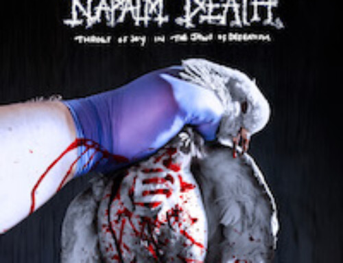 "NAPALM DEATH – ""Throes of Joy in the Jaws of Defeatism"""