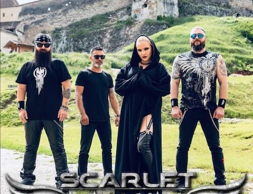 SCARLET AURA, nuovo singolo e data in Italia