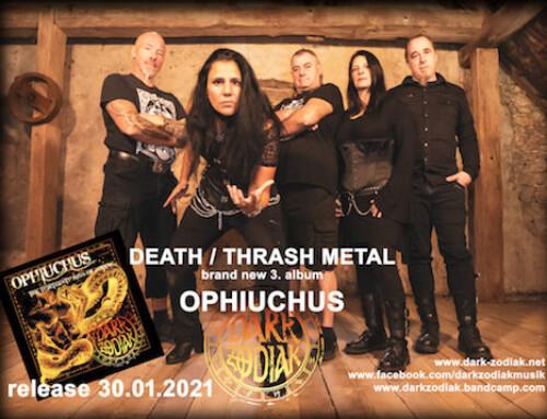 """DARK ZODIAC, annunciano l'album """"Ophiuchus"""" per il 30 gennaio"""