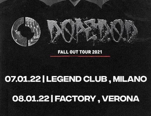 DOPE D.O.D., tour in Italia