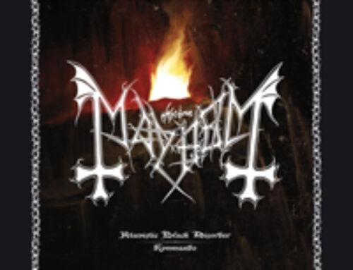 """MAYHEM – """"Atavistic Black Disorder / Kommando"""" (EP)"""