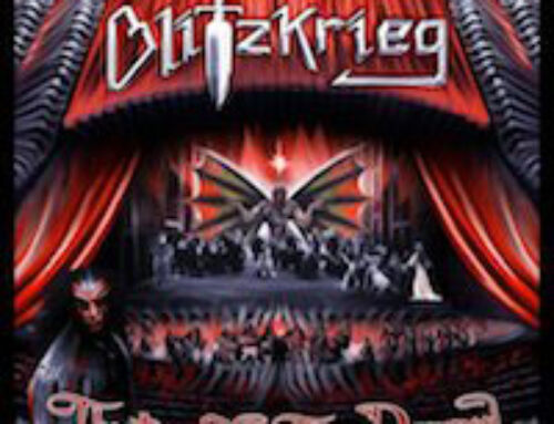 """BLITZKRIEG – """"Theatre of the Damned"""" (Reissue)"""